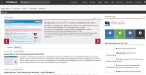 confluence-server-instanz-startseite-mit-blogposts