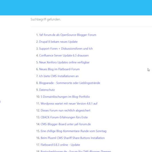 Flatboard 1.0.2 Forum draussen - Fehlerbehebungen und neue Funktionen