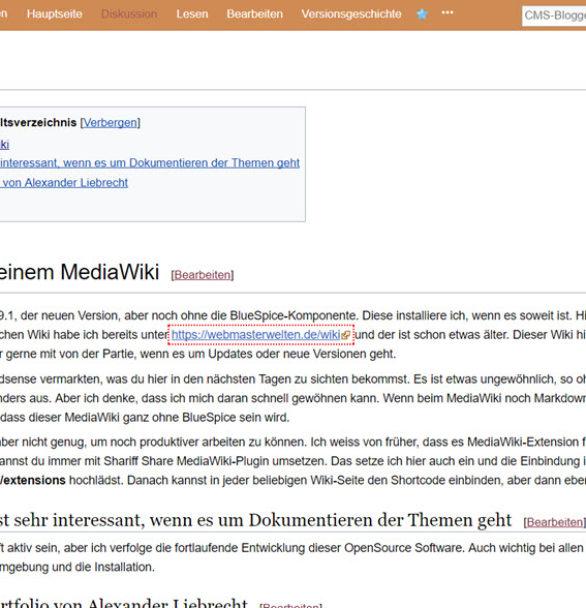 MediaWiki 1.29.1 draussen – wegen zweierlei Extensions das Upgrade