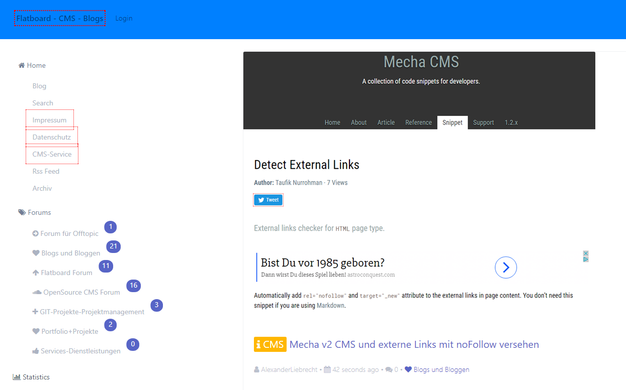 nofollow-links-flatboard-forum-und-mecha-v2-flatfile-cms