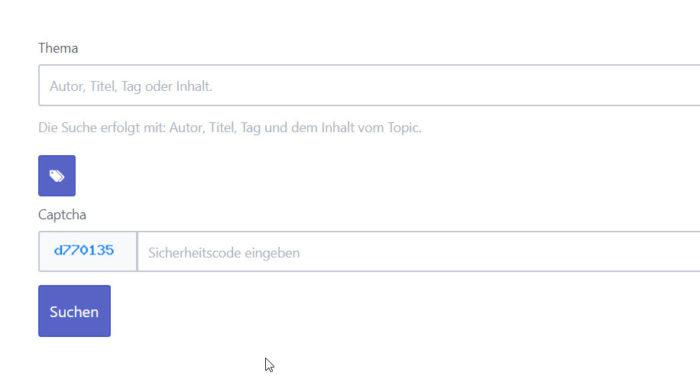 Flatboard Suche auf Deutsch im