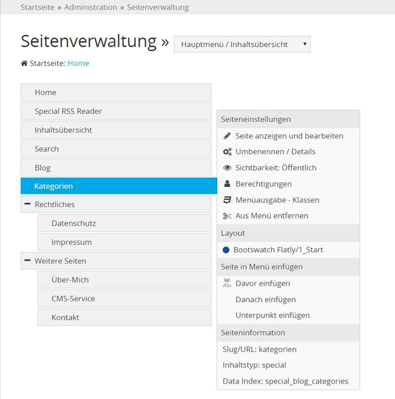 typesetter-cms-seitennavigation-verwaltung