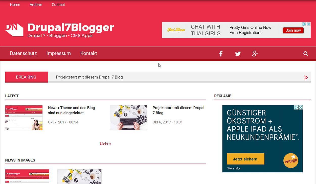 drupal7blogger-frontend