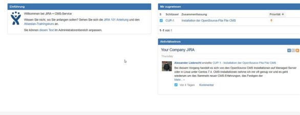 Wie du JIRA Software Server aktualisieren kannst