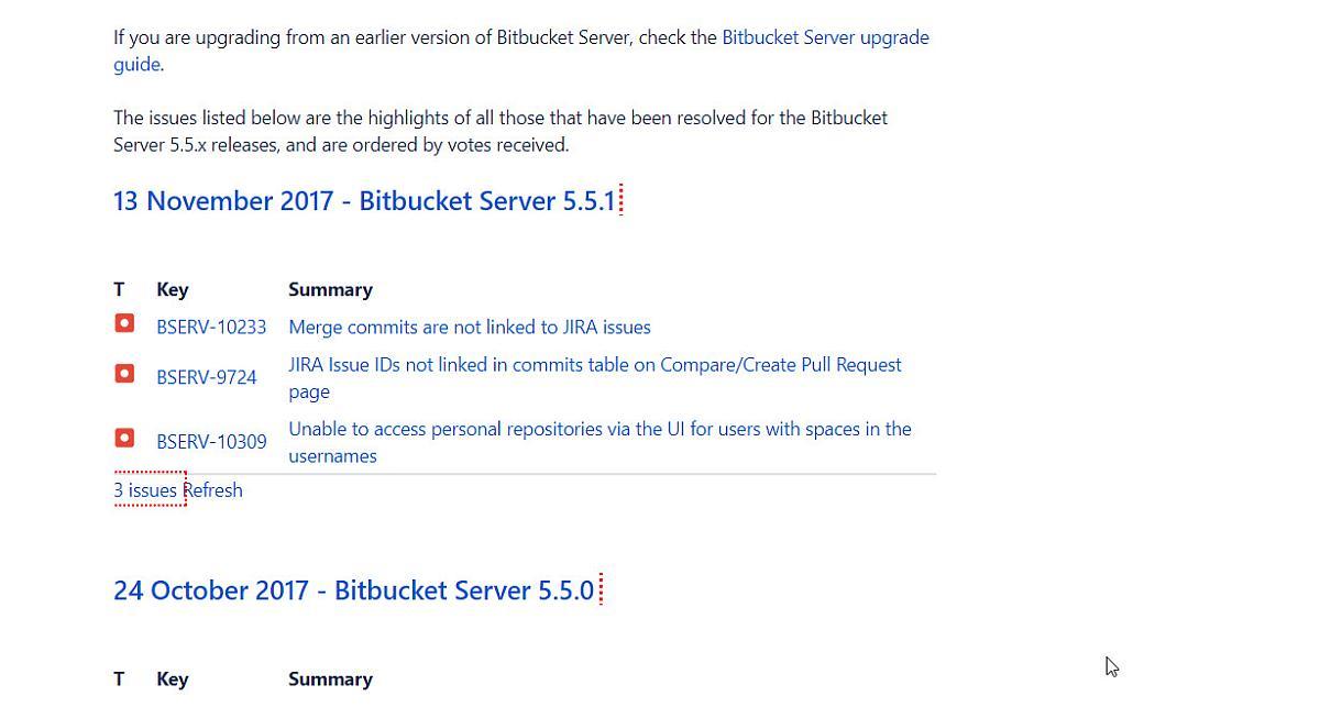 Bitbucket Server 5.5.1 erschienen mit Fehlerbehebungen