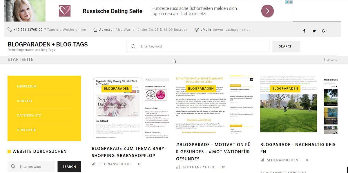 blogparadensammlung-de-frontend