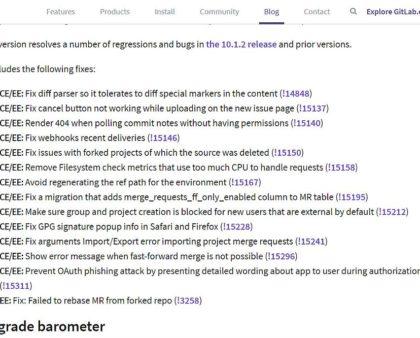 Gitlab Server auf Version 10.1.3 aktualisieren - wie geht das