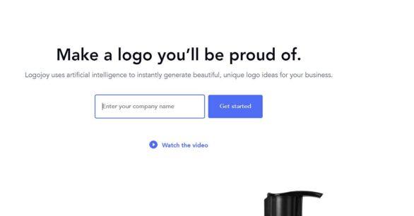 Professionelle Logo-Erstellung via Logojoy