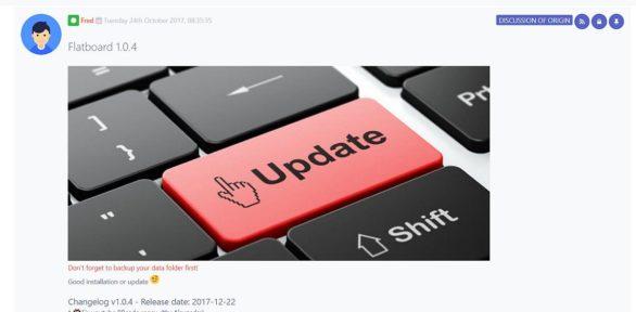 Flatboard v1.0.4 ist erschienen mit neuen Funktionen und Hinzufügungen