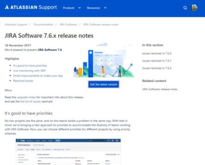 JIRA Software Server 7.6.2 + Bitbucket Server 5.6.2 Updates erschienen