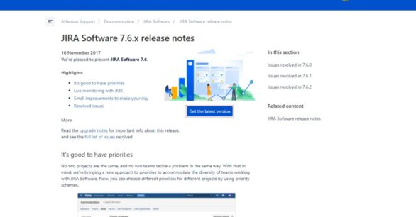 JIRA Software Server 7.6.2 + Bitbucket Server 5.6.2 Updates erschienen