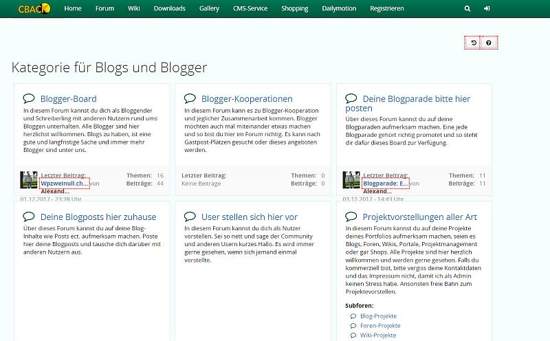 CBACK-Board Bloggers-community.de