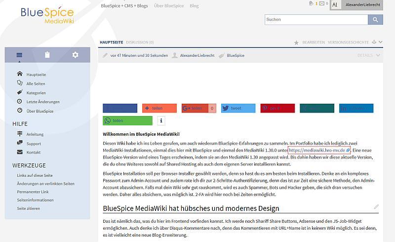 BlueSpice MediaWiki