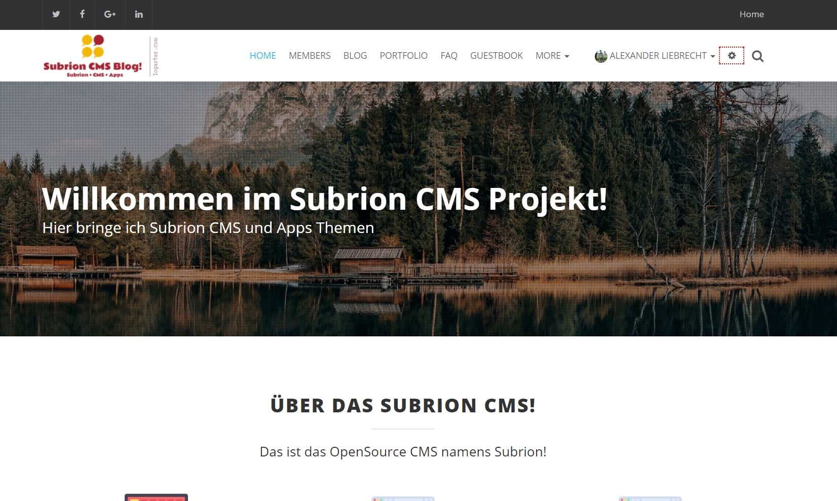 subrion41-cms-blog-frontend