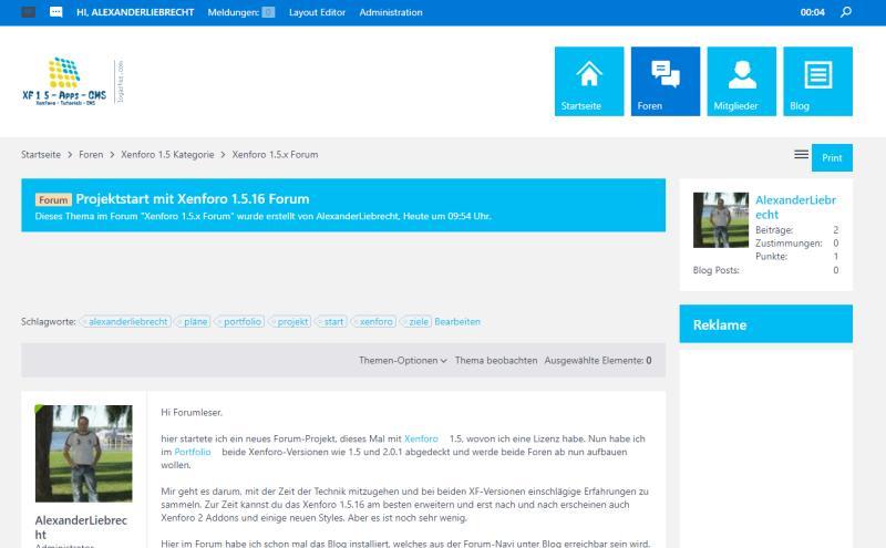 Xenf.liebrechts-portfolio.de - XF 1.5 Forum im Frontend