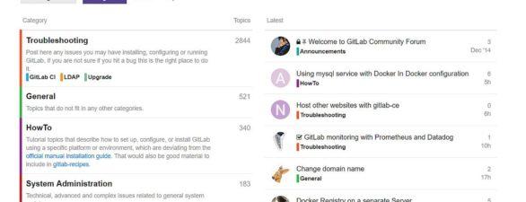 Gitlab Server mit Sicherheitsupdate auf Version 10.4.3 erschienen
