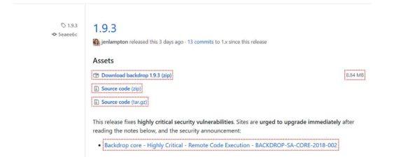 Backdrop 1.9.3 CMS mit wichtigem Sicherheitsupdate draussen