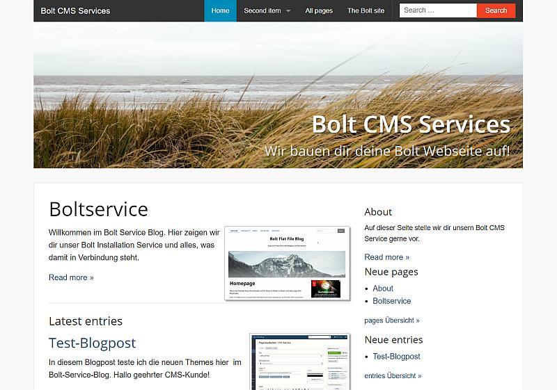 Bolt CMS Theme base-2014