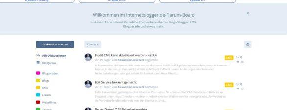 Neue Flarum Forum Erweiterung Cookie Consent Bar Installation