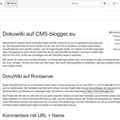 DokuWiki auf Apps-tools-cms.de
