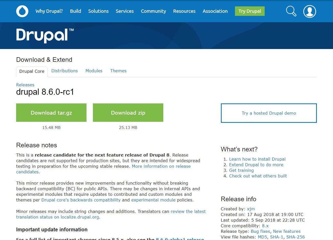 drupal-8-6-0-rc1-update-verbesserungen-fehlerbehebungen-internetblogger-de