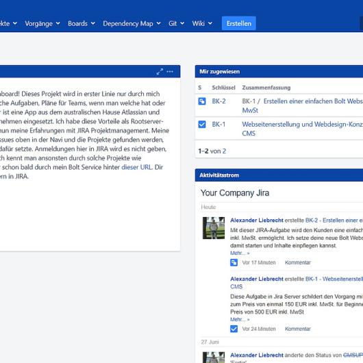 Neue Atlassian Updates - JIRA Server und JIRA Service Desk erschienen
