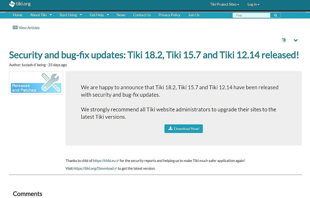 tikiwiki-18-2-bugfix-sicherheitsupdate-internetblogger-de