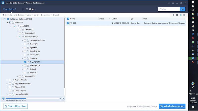 easeus-data-recovery-tool-dateienauflistung-gelöschte-dateien-wiederherstellen-einzelner-ordner