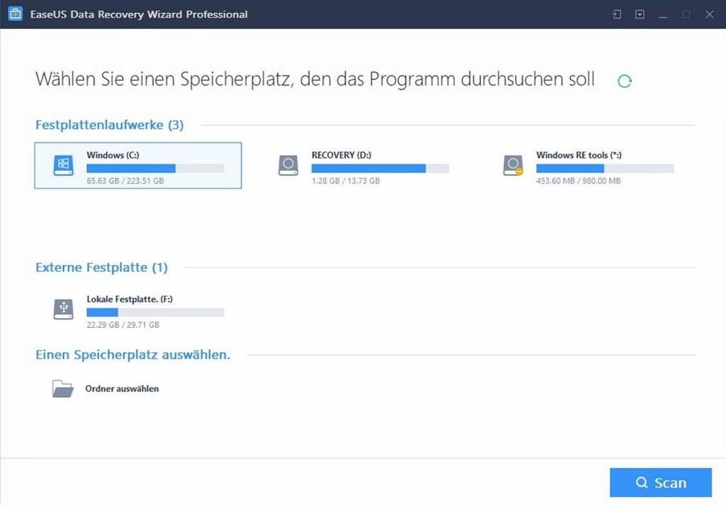 easeus-data-recovery-tool-festplatten-übersicht