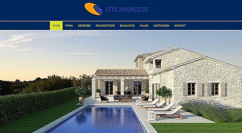 atticahomes-de-webseiten-frontend-mit-slider-internetblogger-de